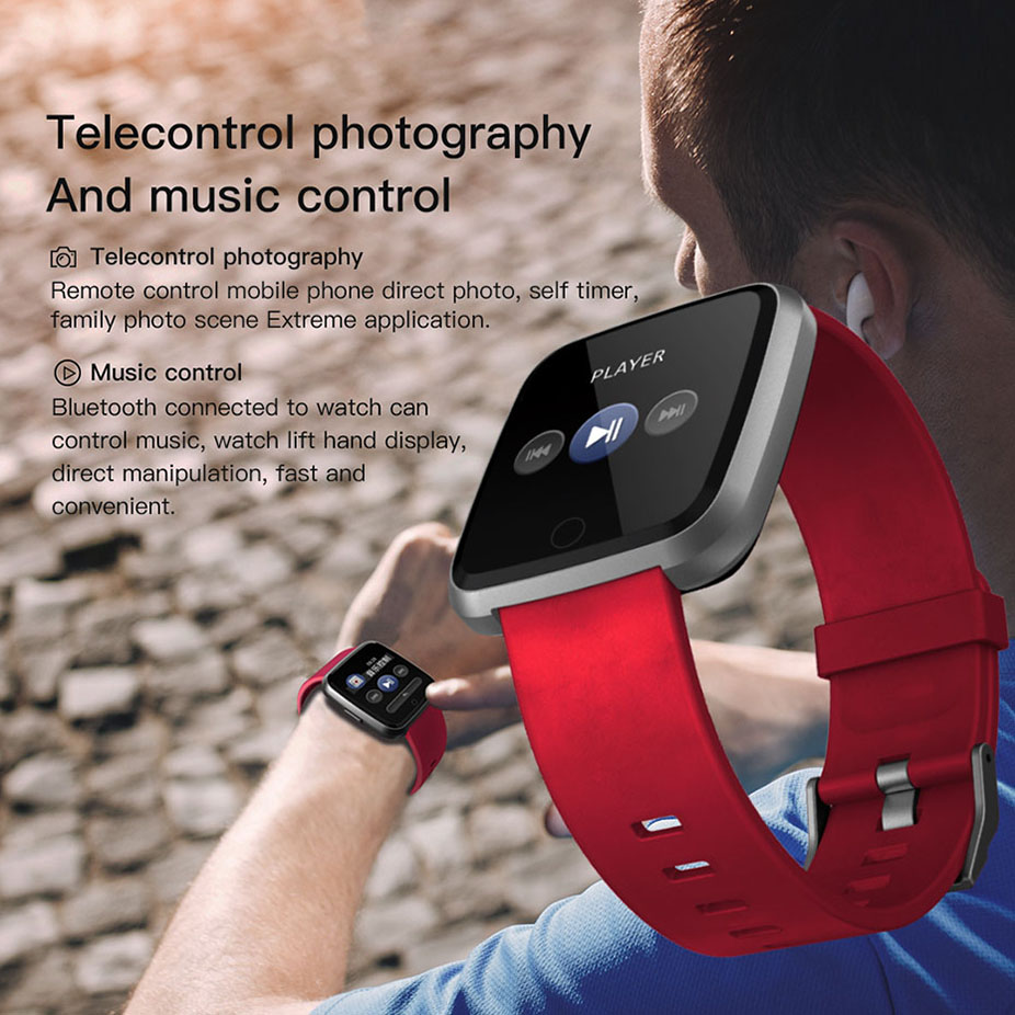 COLMI Smart watch Men IP67 Waterproof Activity Fitness Tracker Heart Rate Monitor Women Smartwatch For Android IOS 9