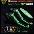 New (With Logo:Z1000) Short Motorcycle Brake Clutch Levers For Kawasaki Z1000 2007 2008 2009 2010 2011 2012 2013 2014 2015 2016
