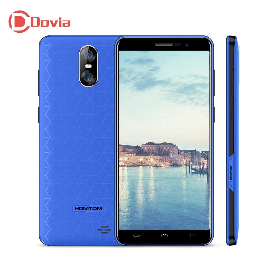 HOMTOM S12 3g телефона 5,0 Android 6,0 MTK6580 4 ядра 1 ГБ Оперативная память 8 ГБ Встроенная память 2750 мАч 8MP + 2MP двойной сзади мобильный телефон с камерами