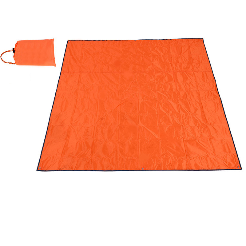 Beach Blanket Tarpaulin Waterproof Picnic Camping Mat 200x200cm Foldable Blanket Outdoor Mat For Picnic Bay Play Mat 5pcs