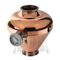 Tri-clamp Copper onion head 4