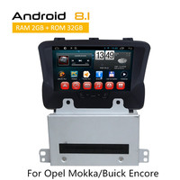 For Opel Mokka/Buick Encore Double Din Car Stereo Bluetooth Car PC Multimedia System Android 8.1 GPS Rear View Camera AUX TPMS