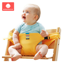 Baby Dining Chair Safety Belt Portable Travel Foldable Infant High Dining Cover Seat Feeding Chair Harness Baby Booster Seat