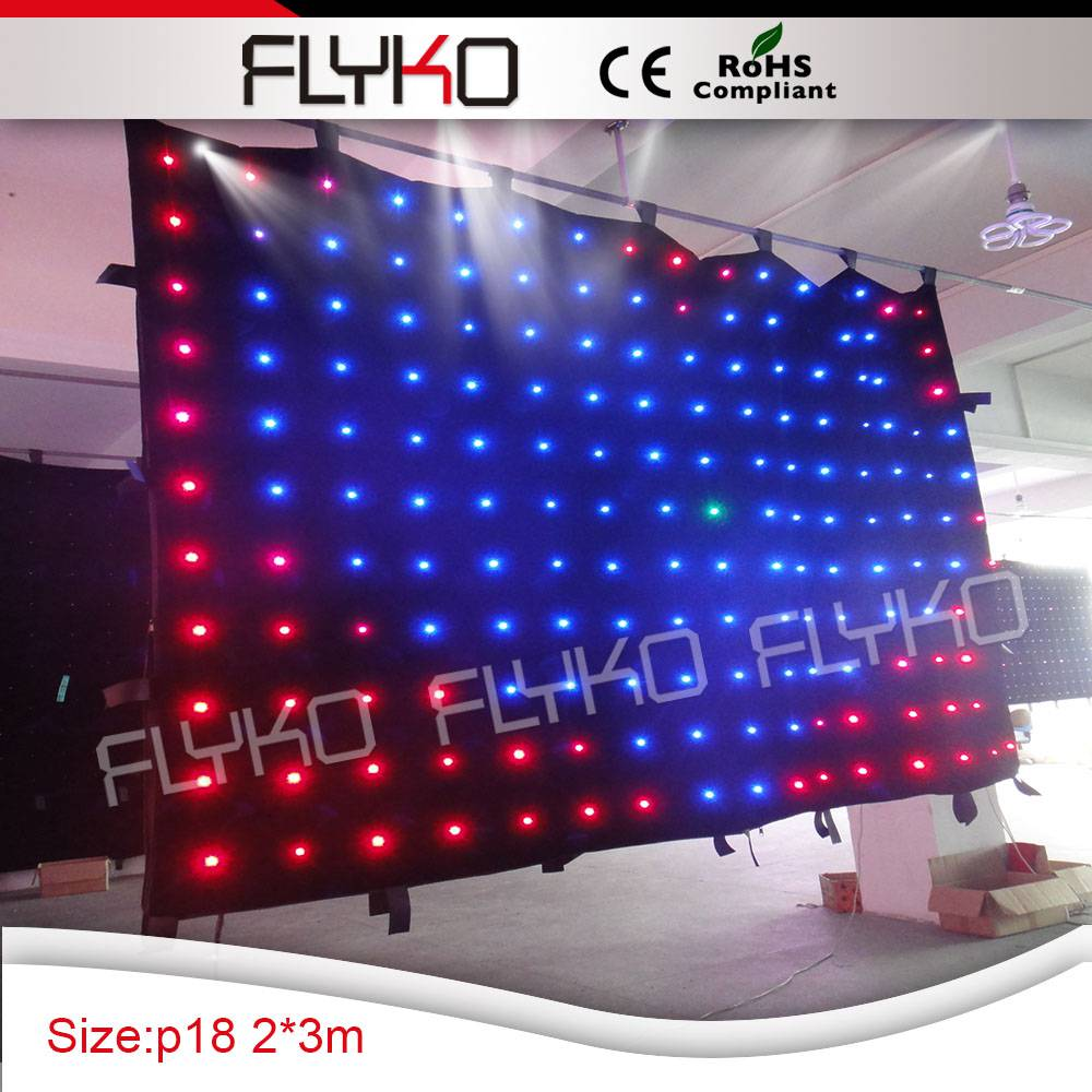 Cheap black stage curtains - Led Dot Light Source Xxx Photos P18 Decorate Night