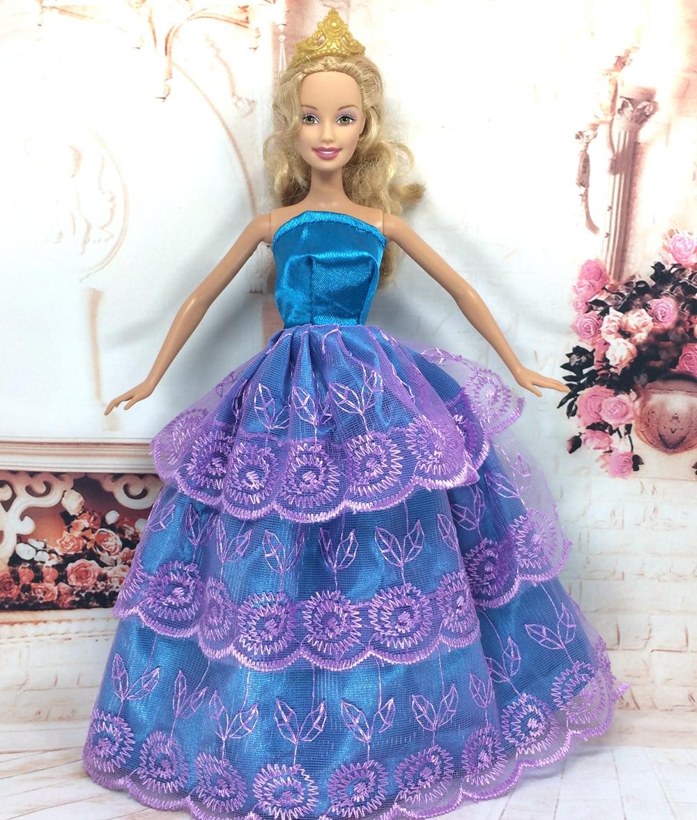 Lujo Barbie Vestidos De Fiesta Elaboración - Vestido de Novia Para ...