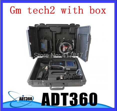 2014 Top-Rated Fast Shipping GM  TECH2 with 6 kinds 32 mb card for choosing. professional gm tech2 with a box diagnostic tool