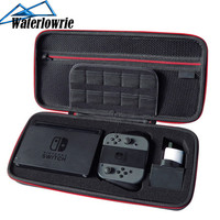 Waterlowrie Storage Bag for Nintend Switch Nintendos Switch Console Case Durable Nitendo Case for NS Nintendo Switch Accessories