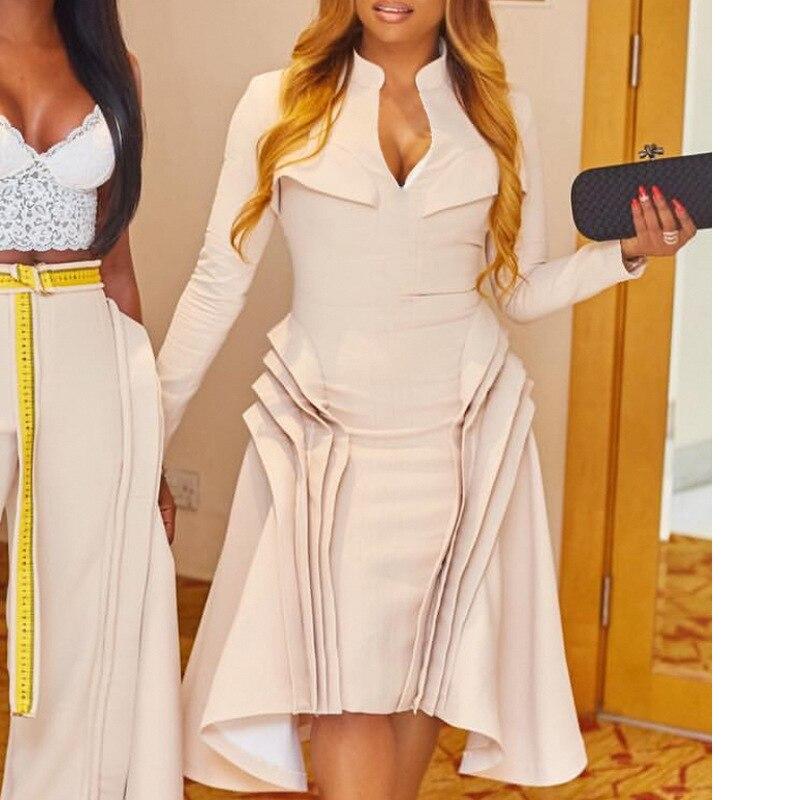 2019 New Arrival Elegent Fashion Style Summer African Women Plus Size Dress S-XXL