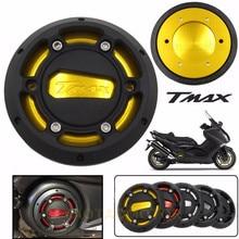 Мотоциклетный TMAX Двигатель статора Крышка двигателя с ЧПУ Защитная крышка протектор для Yamaha T-max 530 2012- TMAX 500 2008-2011
