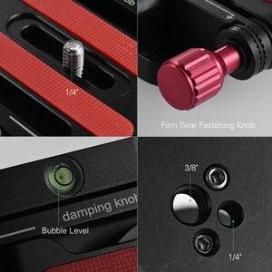 Image 5 - AndoerอลูมิเนียมZ Flexเอียงขาตั้งกล้องพับQuick Releaseแผ่นกล้องHeadสำหรับCanon Nikon Sony DSLR stabilizer