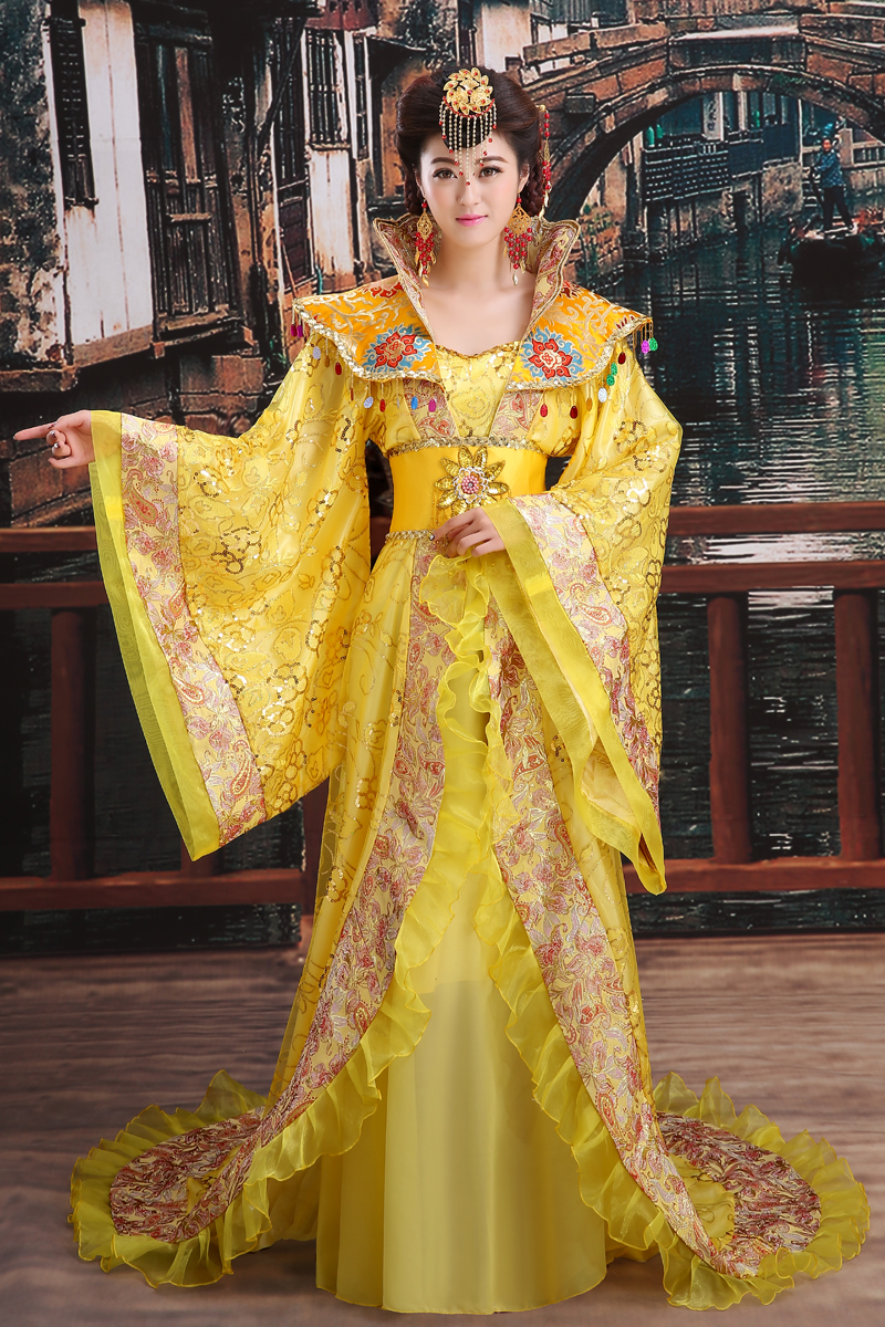 Hot Sale New Traditional Royal Dramaturgic Chinese Ancient Princess Costume Hanfu Female Dress Han Dynasty Clothing