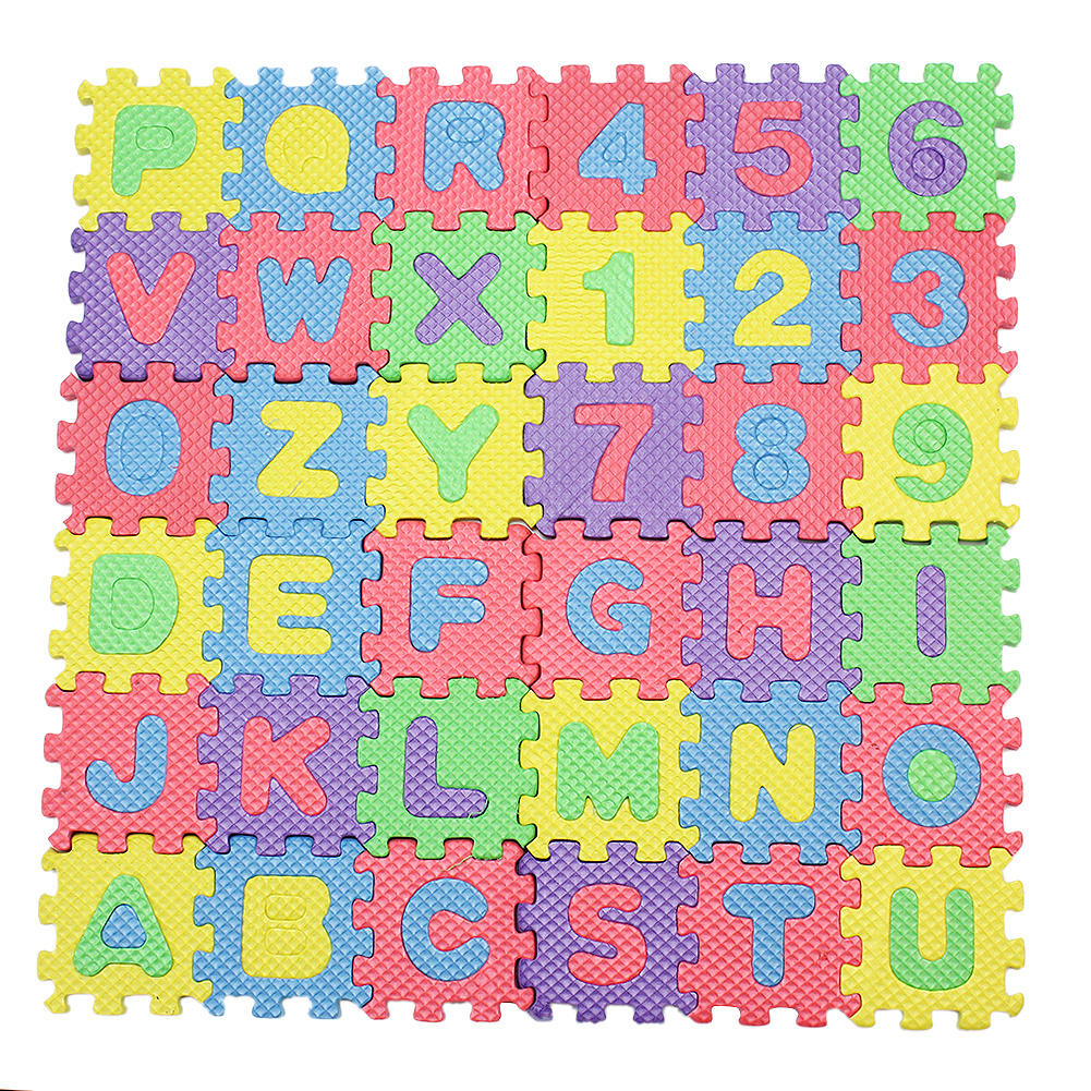 carpet letters. 36pcs/set new a-z letters alphabet numbers soft foam play mat carpet rugs children baby t