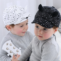 1PC Cute Autumn/Spring Baby Hat Prevent Sun Cap Child Cap Baby Baseball Boys Casual Visors