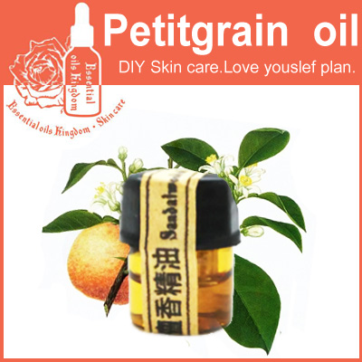 Free shopping 100% Pure plant essential oils petitgrain oil 2ml alleviate sebum production, suitable for acne whelk