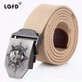 200cm XXXL men OUTDOOR Military  cotton  webbing STRAP  SKULL BUCKLE LONA CORREA  CORREIA  thick strong canvas belts
