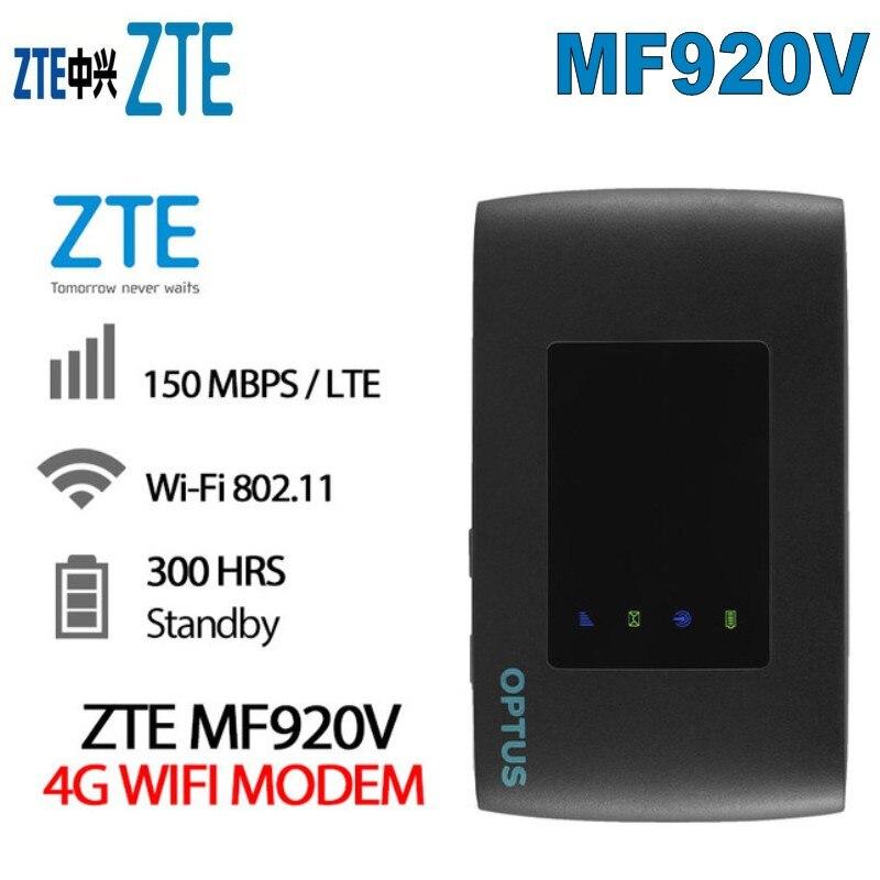 Unlocked 4g modem NEW ZTE MF920V 4G Wi-Fi Modem Pocket WiFi RouterUnlocked 4g modem NEW ZTE MF920V 4G Wi-Fi Modem Pocket WiFi Router