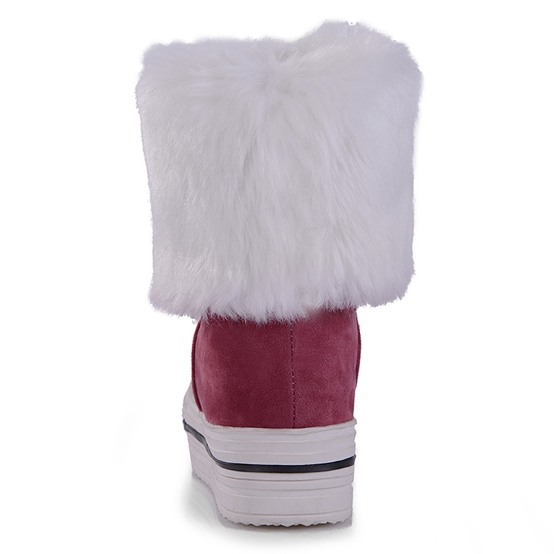 Invierno Por piel Piel 34 Mayor oro Becerro 43 De Negro Cpi Zapatos Nieve Botas Gran rojo azul Mujer Ac Tamaño Al Med 53 Mujeres Plataforma 5pqPaxv