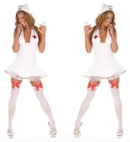 Lady New Halloween Fun Nurse Cosplay Show Clothing Women Cosplay Costume Girls Sexy Nurse Suit Make