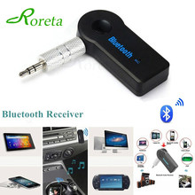 Roreta AUX 3.5mm Jack Bluetooth Receiver Car Wireless Adapter Handsfree Call Bluetooth Adapter Transmitter Auto Music Receiver(China)
