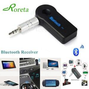 Roreta AUX 3.5mm Jack Bluetooth Receiver Car Wireless Adapter Handsfree Call Bluetooth Adapter Transmitter Auto Music Receiver(China)