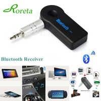 Roreta AUX Jack de 3,5mm Bluetooth receptor inalámbrico para coche adaptador llamada de manos libres adaptador Bluetooth transmisor de receptor de música