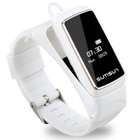 PAWPAW Watch B7 Smart Sports Watches & Headset Function Wristwatches Women Men Multi functional bracelet For iOS Android