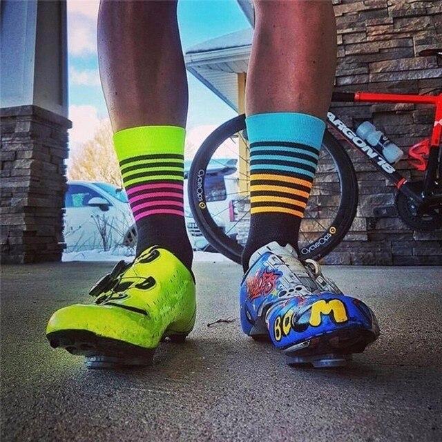 chaussette cyclisme haute