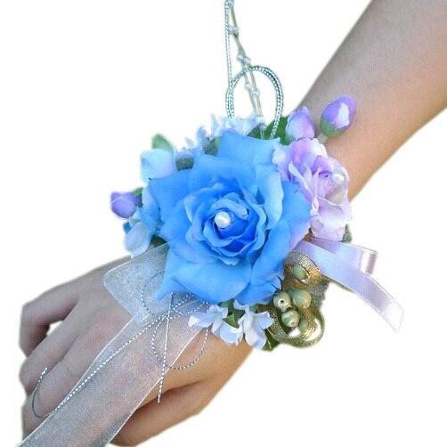Hochzeit Dekoration Braut Handgelenk Corsage Hochzeit Party Prom