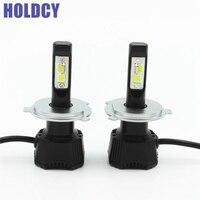 2 X LED Car Headlight Bulb H4 H7 H11 9005 9006 76W 7600LM 6500K COB Chip