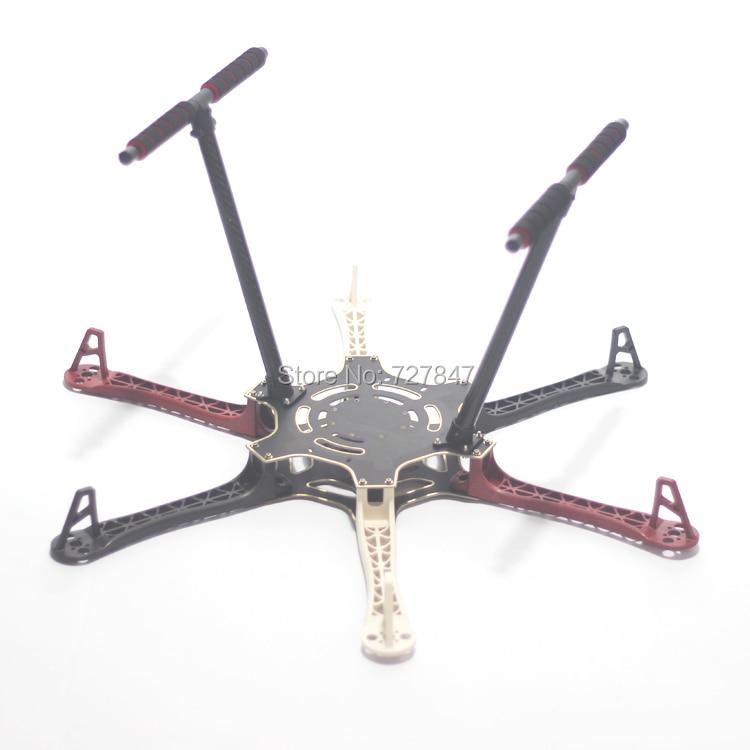 F550 550mm Hexa Rotor Air Frame FlameWheel Kit Mit Carbon Fahrwerk für KK MK MWC MultiCopter hexacopter-in Teile & Zubehör aus Spielzeug und Hobbys bei  Gruppe 3
