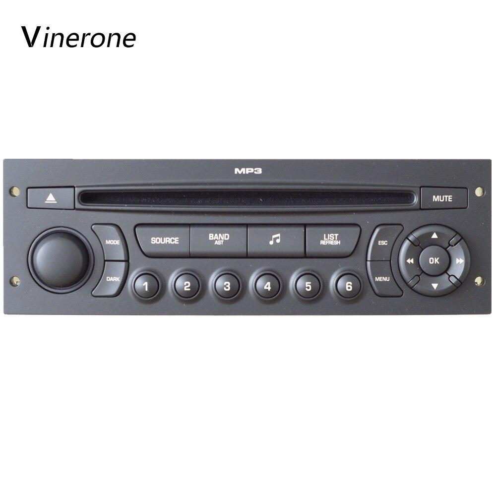 D'origine RD45 Voiture Radio USB Bluetooth MP3 Approprié 207 206 307 C3 C4 C5 Auto Audio 1din Auto CD Lecteur voiture Audio