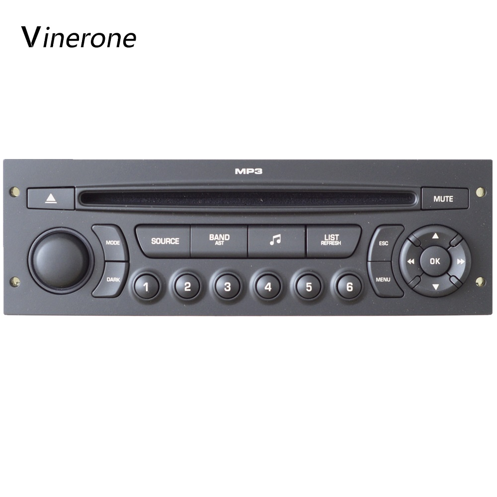 Original RD45 Car Radio USB Bluetooth MP3 Suitable 207 206 307 C3 C4 C5 Auto Audio 1din Auto CD Player Car Audio