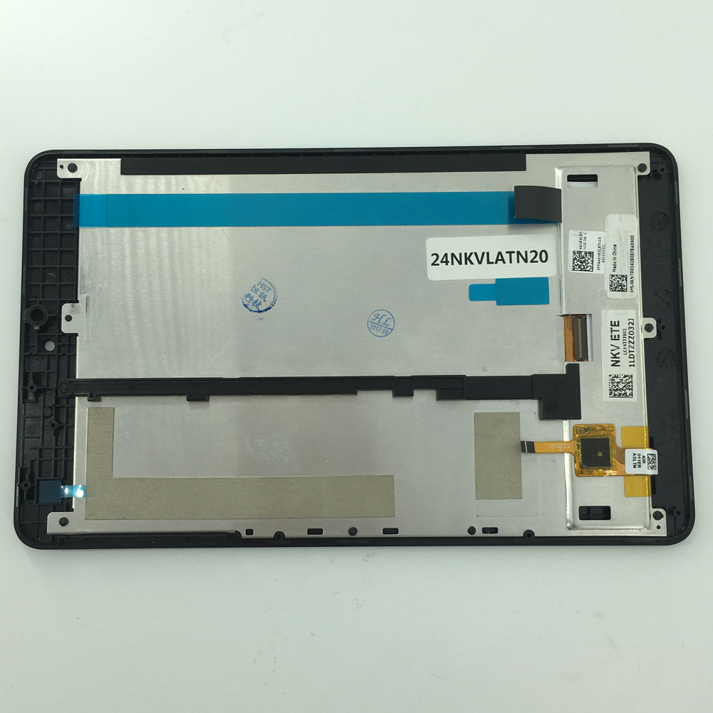 New 7 Inch For Acer Iconia One 7 B1-730 B1 730 LCD Display Matrix Touch Screen Digitizer Assembly With Frame