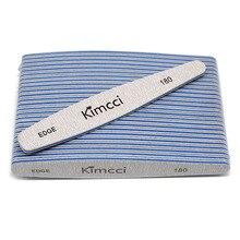 Kimcci 25 шт./лот, хорошее качество, пилочка для ногтей, маникюрный набор, наждачная бумага, тонкий буферный край, 180, маникюрный салон, принадлежности для маникюра