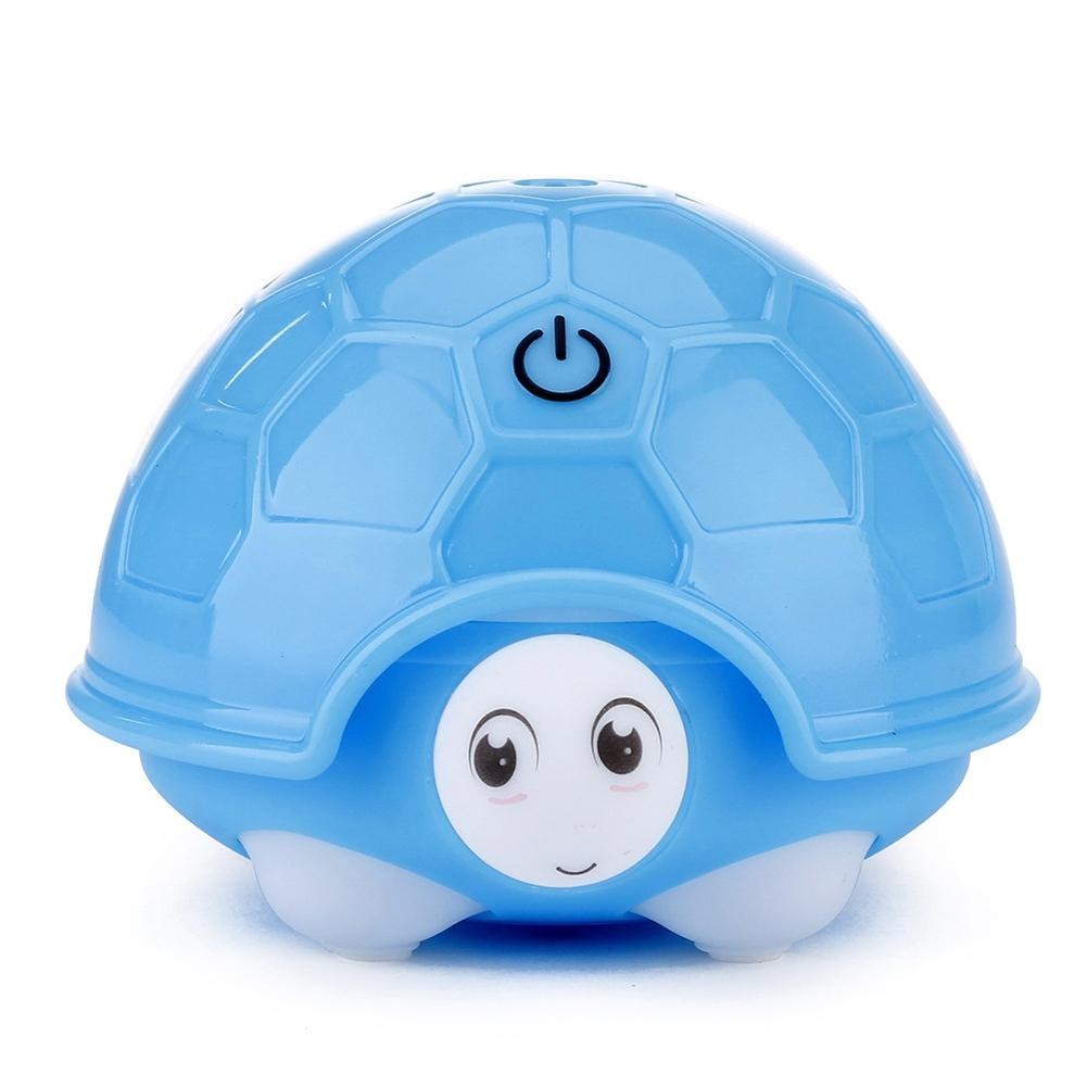 Adoolla Mini Portable USB Charging Turtle Humidifier LED Night Light for Home Office Car Gift Decoration 2017 new elecom 2 4g mini mouse vwith charging for home office general balls the mouse girl