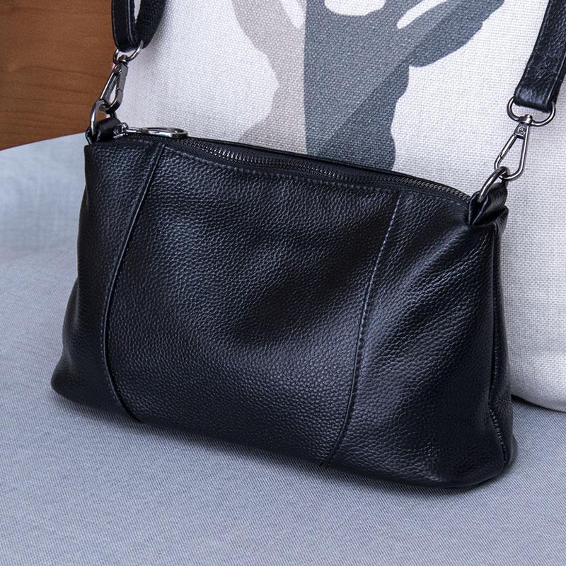 Female Genuine Leather Crossbody bags Luxury Handbags Women Bags Designer Fashion Shoulder Messenger Bag Totes Purse