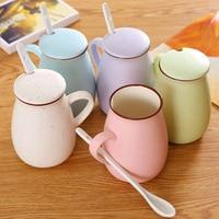 Gintama Sakata Gintoki Kagura Mugs Coffee Milk Cartoon Cup 450ml No A0003