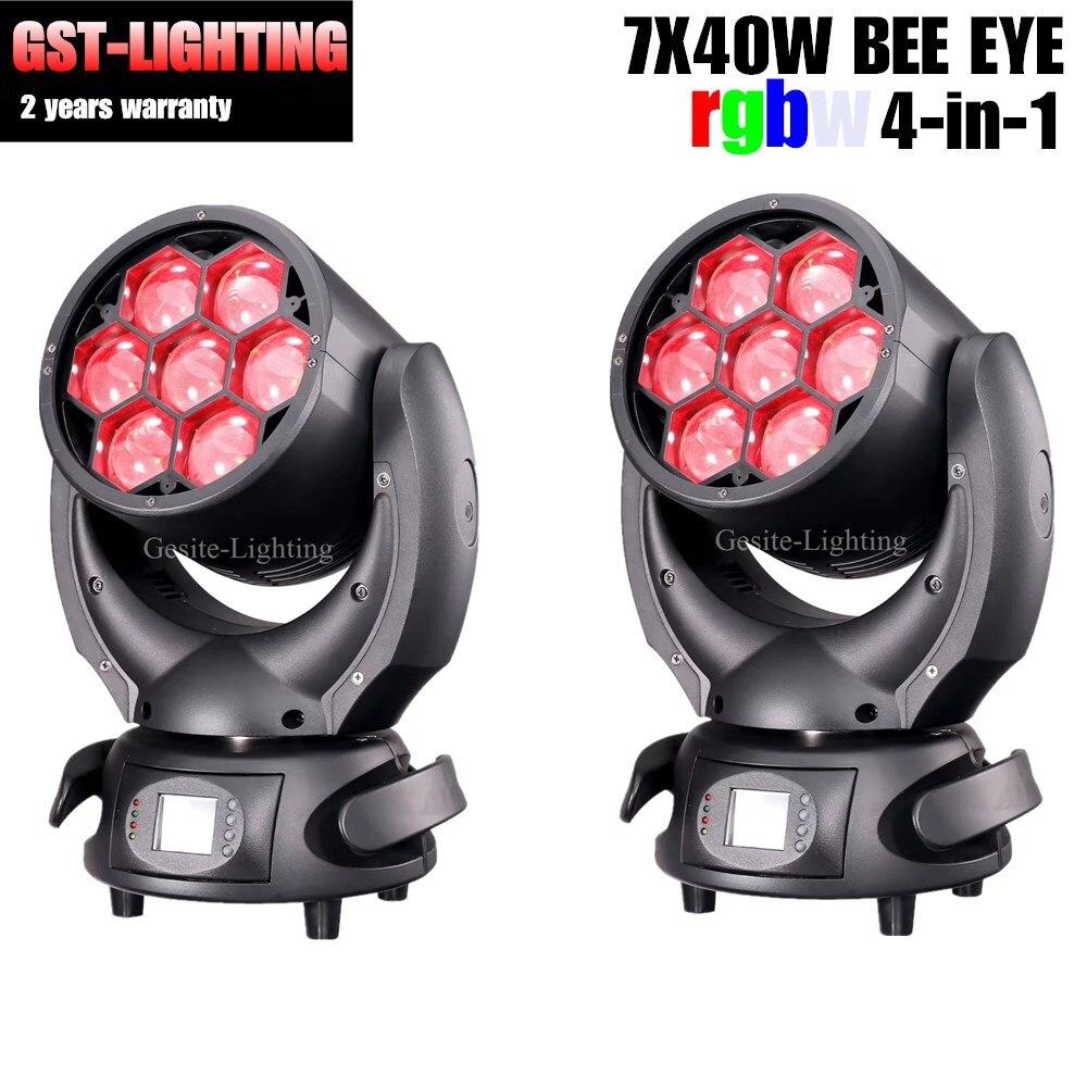 Commercial Lighting Lights & Lighting 2pcs/lot Bee Eye Wash Beam Zoom 7x40w Osram Led Stage Dj Light Online Discount