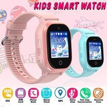 TD06S gps IP67 Водонепроницаемый телефон позиционирования Мода Дети часы 1,3 дюймов Цвет Сенсорный экран SOS детские Смарт-часы для мальчиков и девочек