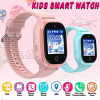 TD06S GPS IP67 Waterproof Phone Positioning Fashion Children Watch 1.3 Inch Color Touch Screen SOS Baby Smart Watch Boys Girls