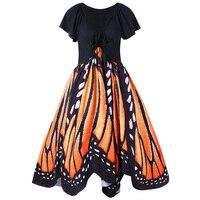 CharMma 2017 Plus Size Vintage Butterfly Embroidery Summer Dress Women 50s Swing Pin Up Vestido Robe