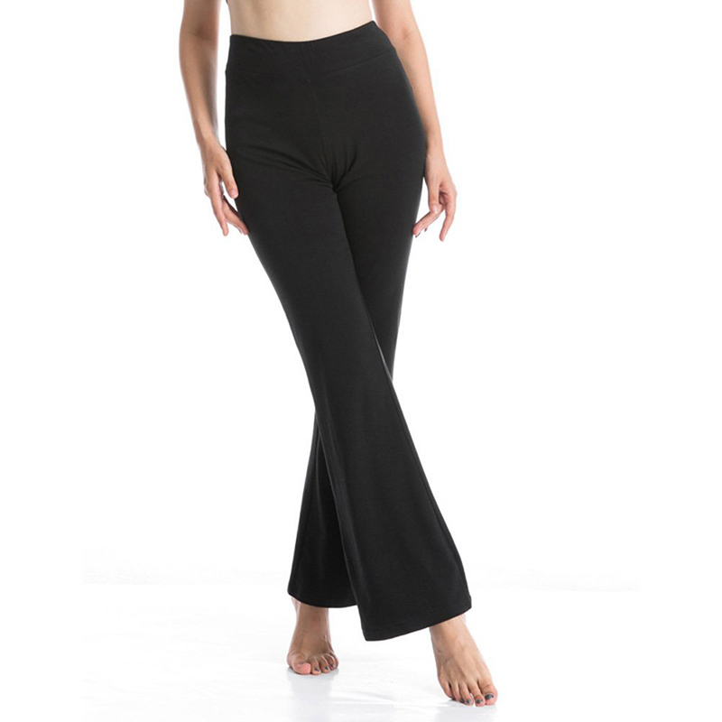 5982c32a7fd4f Women's Yoga Pants High Waist Inner Pocket Bootcut Leggings Workout Running  Pants-in Yoga Pants from Sports & Entertainment on Aliexpress.com | Alibaba  ...