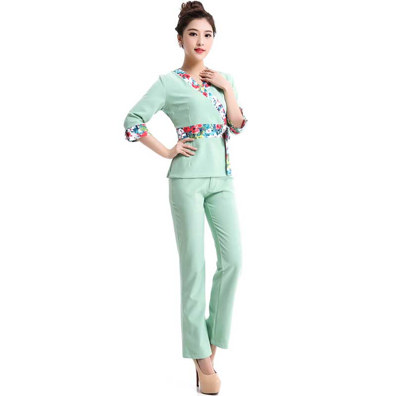 2016 Sexy Cotton Medical Clothing Uniform Hospital Lab