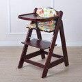 Многофункциональный ребенок ребенок твердого дерева, обеденный стул ребенка обеденный стул из массива дерева детский стульчик с snacky лоток