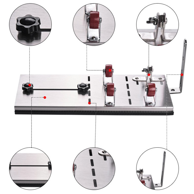 Bottle Cutter Kit Stainless Steel Glass Cutting Kit Bottle Cutting Machine For Cutting Wine Beer Liquor Whiskey Bottles