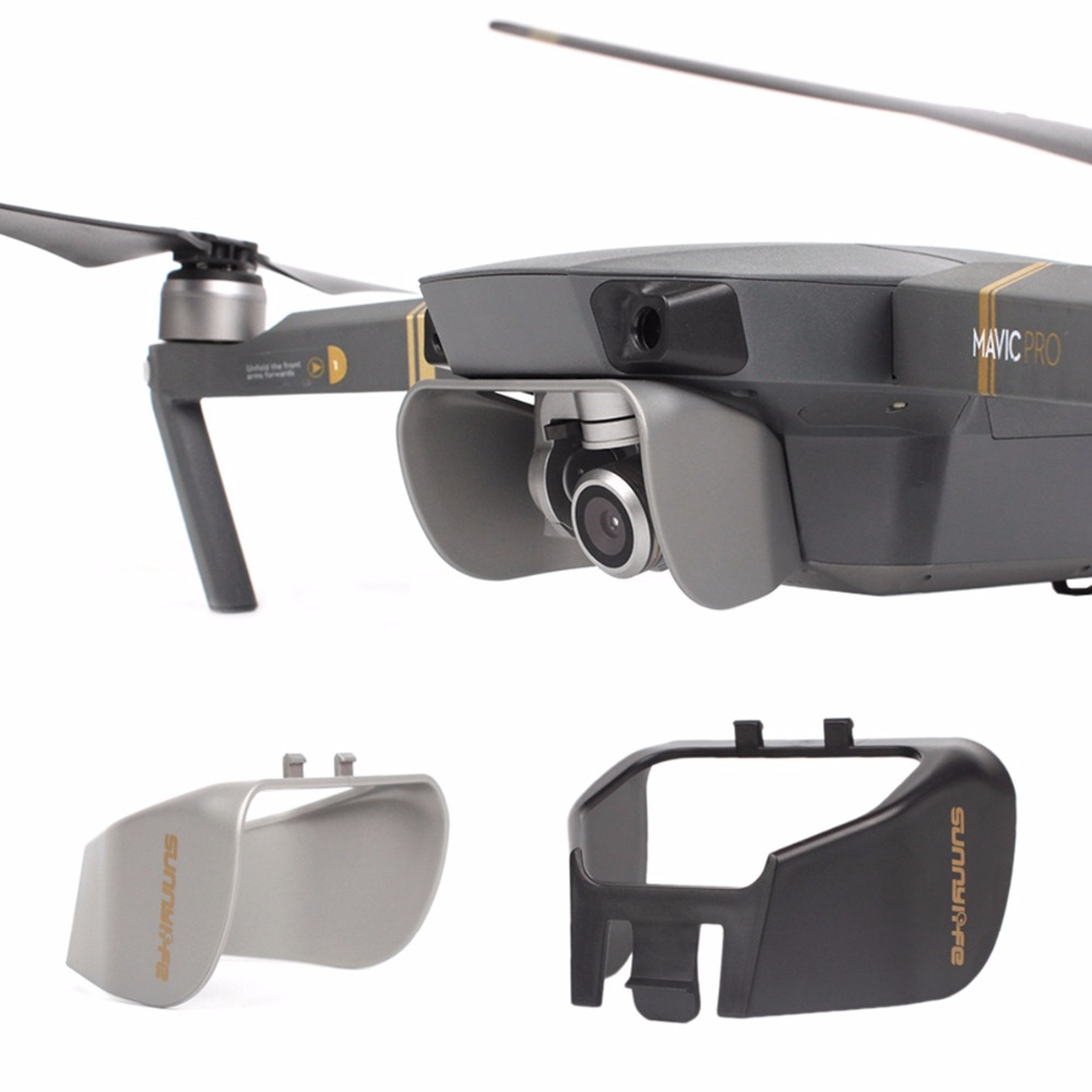 Mavic Pro Camera Sun Shade Lens Hood Glare Gimbal Camera Protector Cover For DJI Mavic Pro Platinum Drone Protector Spare Parts
