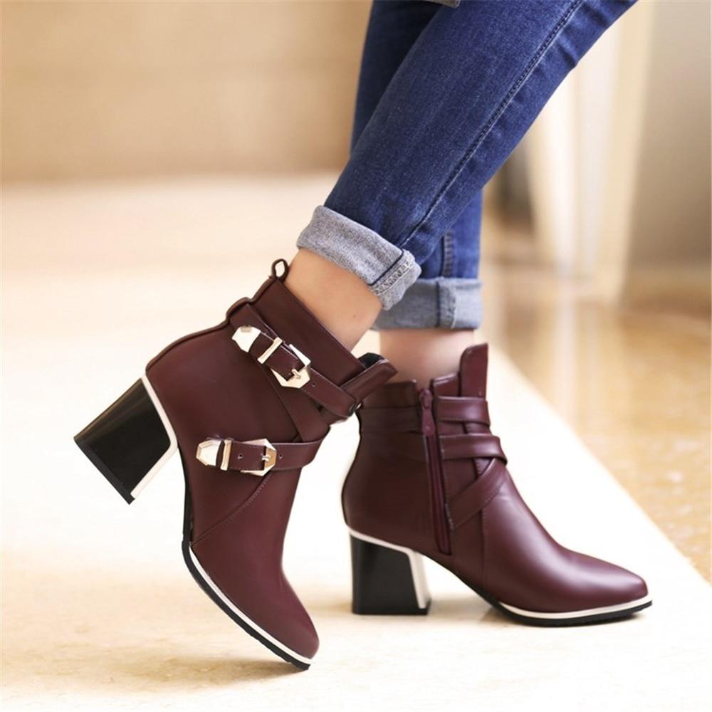 Tailor 2018 winter boots women European style retro fashion Martin boots luxury luxury Roman boots High