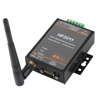 Industrial Modbus Serial RS232 RS485 RS422 to WiFi Ethernet Converter Device TCP IP Telnet Modbus 4M Flash