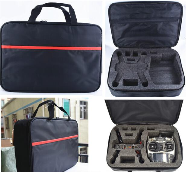 FPV QAV250 210 Quadcopter RC aircraft parts remote controller handbag carrying case storage bag for FPV QAV250 210 drone accesso spark storage bag portable carrying case storage box for spark drone accessories can put remote control battery and other parts