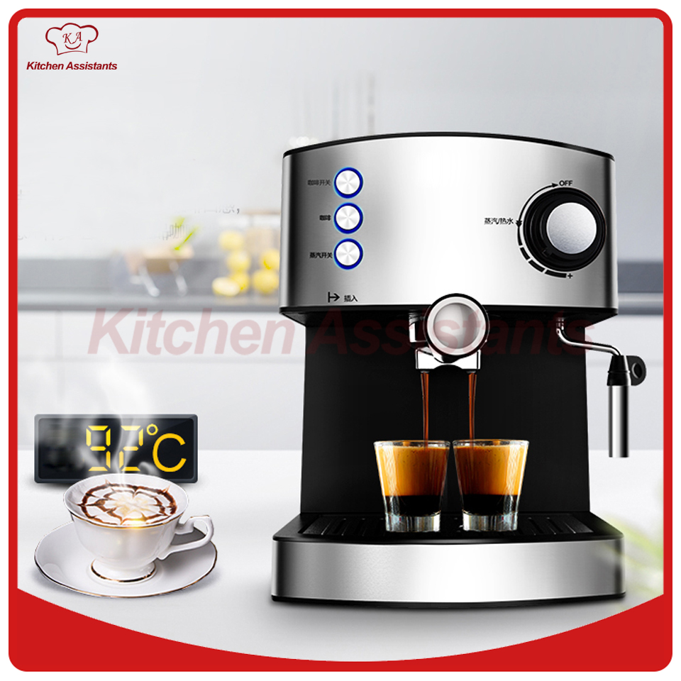 MD2007 muti-function full-automatic italy type espresso Cappuccino coffee maker machine with high pressure steam for home use coffee maker capsule coffee machine capsule type k cup full automatic espresso cappuccino coffee machine cafeteira expresso